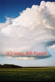 Marlin, TX  LP supercell - 3/21/2005