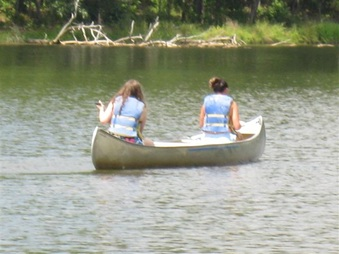 Canoeing and Lake Toys