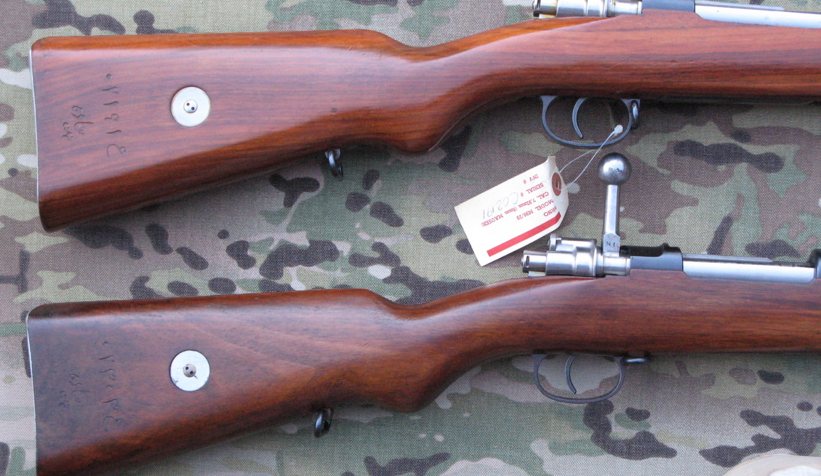 Question on M98/29 Persian Mauser stock finish