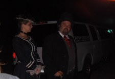 Ghostly Limo Tour