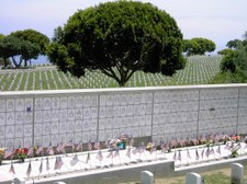 Point Loma Cemetery on Memorial Day