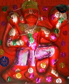 Hanuman photos of concecrated murties