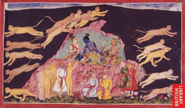 Hanuman photos of statues & art
