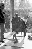 Maharaji in Allahabad B&W #1
