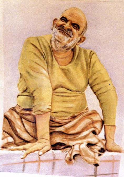 Maharaji in Art