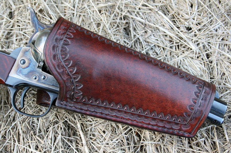 Packing iron gunleather of the frontier west
