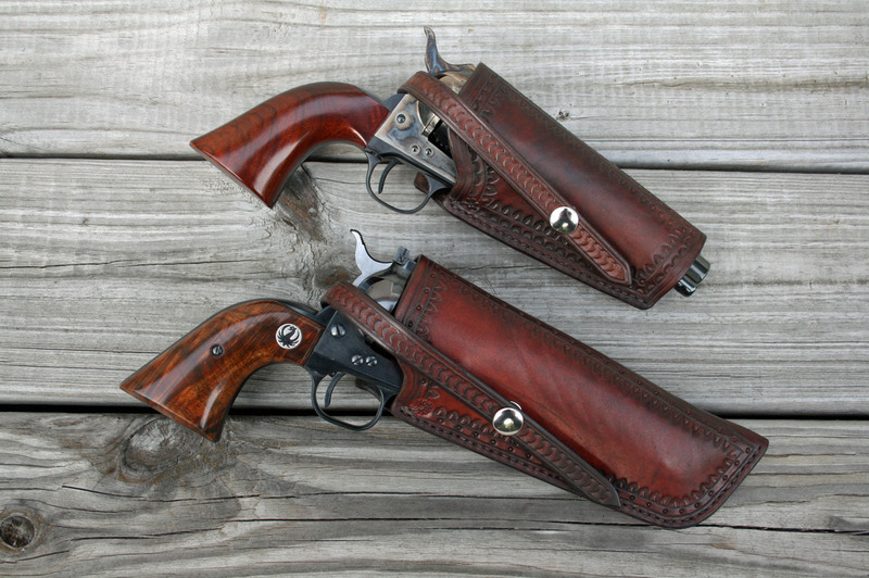 Two more Threepersons holsters | Single-Actions