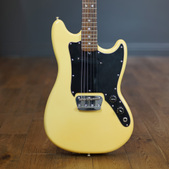 Fender Musicmaster Guitar Olympic White