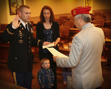 Swear in WO Brown