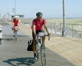 Bicycling 152 Miles from Atlantic City