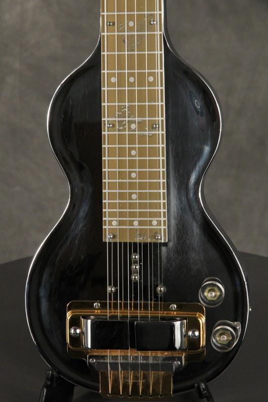 1940 39 s rickenbacker model g deluxe metal lap steel guitar chrome gold ebay