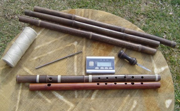 Making a Transverse Bamboo Flute - Photo Essay with Video