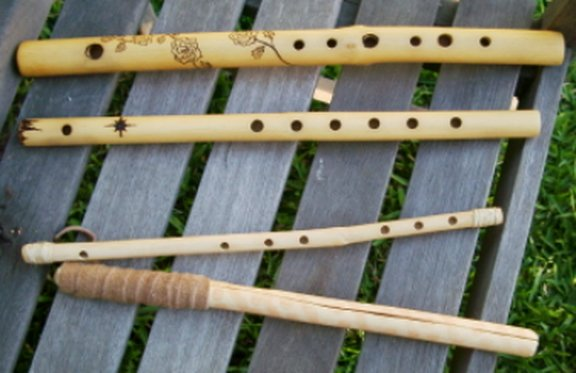 Unlike The Side N Variety Above What We Think Of As Native American Flutes Had A Slightly More Complex Design This Makes Them Easier To Play