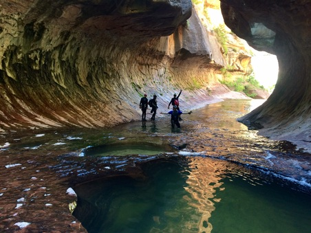 Canyoneering the Subway in Southern Utah