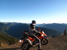 Hurricane Ridge WA cycle ride