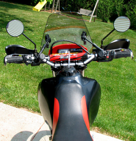 Windshield For My Xr650l Adventure Rider