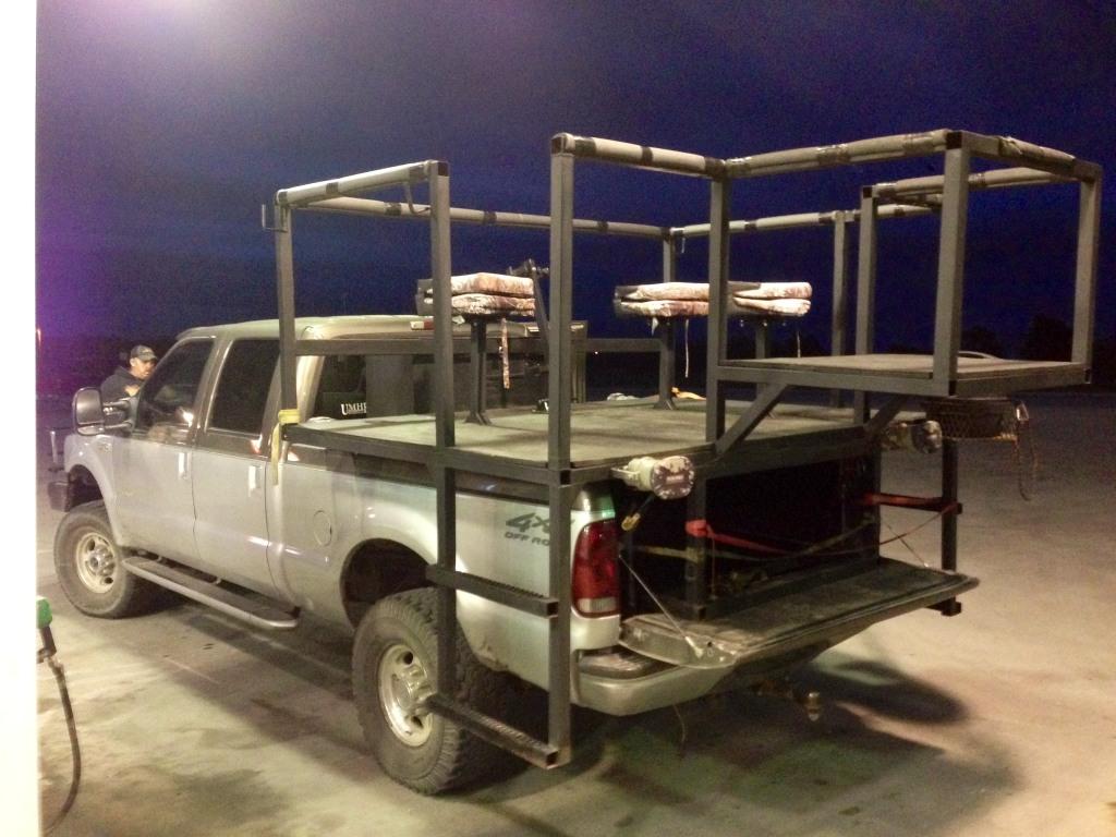 Truck Hunting High Racks