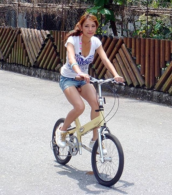 Advice for women buying a bicycle... Mime-attachment