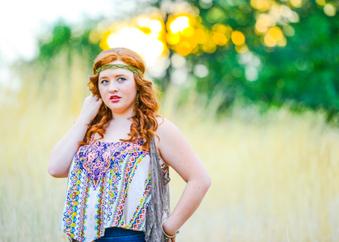 Justine's senior pics