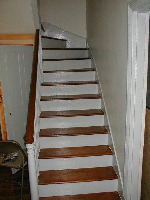 Paint Pine T Amp G Remove Paint From Stair Treads