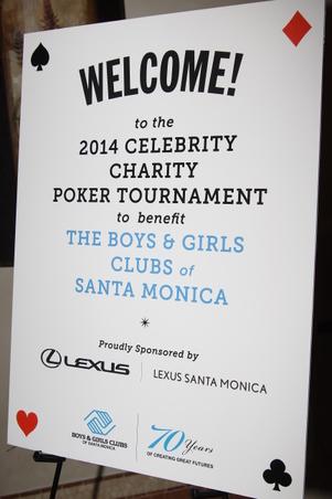 Boys & Girls Club Charity Poker 2014