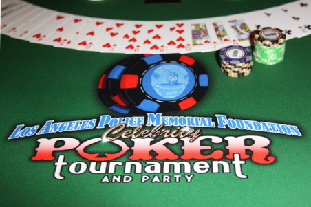 LAPD Memorial Poker 2013