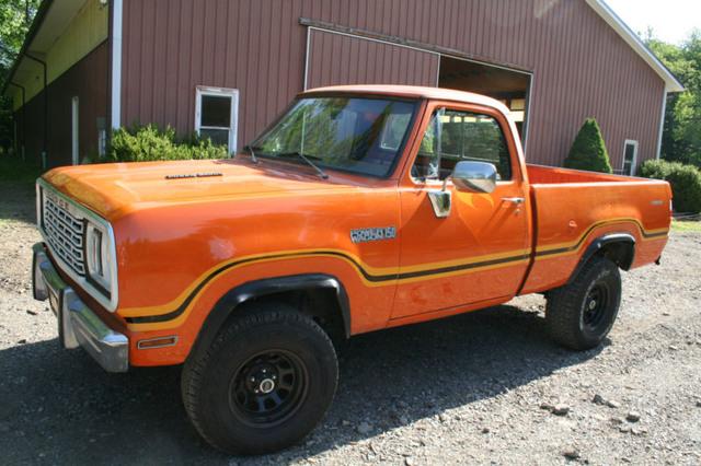 1978 Dodge Power Wagon Orange