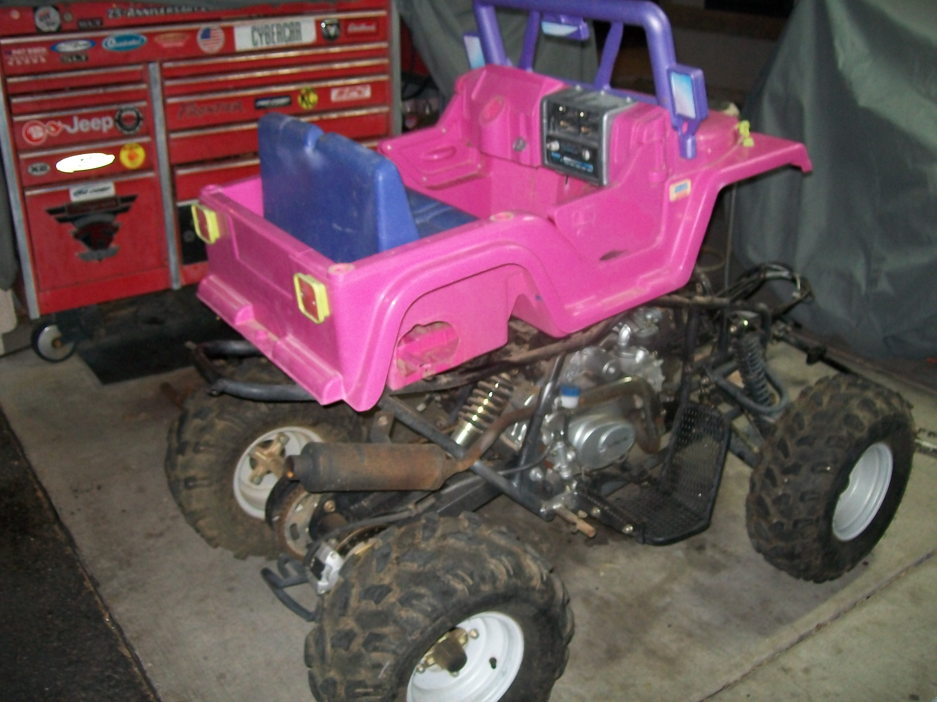 Photo 12 of 15, Gas Power Wheels Conversion