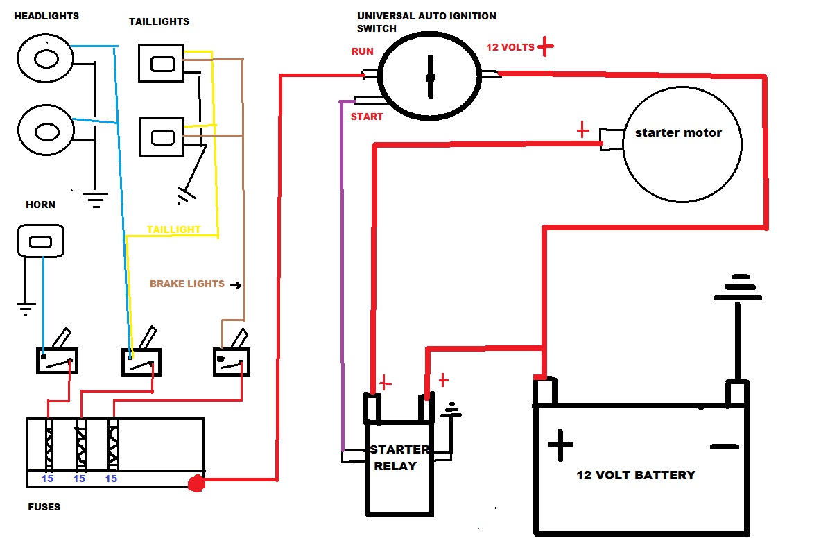 Wiring Diagram For A Quad Bike : Power wheels atv wiring diagram get free image about