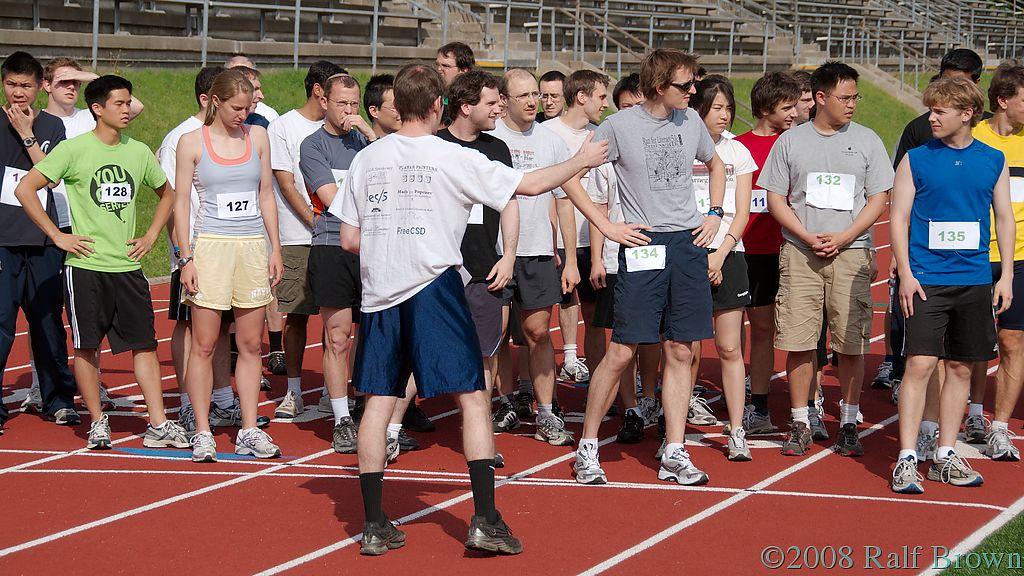 Random Distance Run 2008