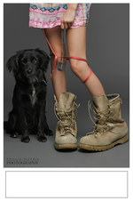 Puppy and Girl poster