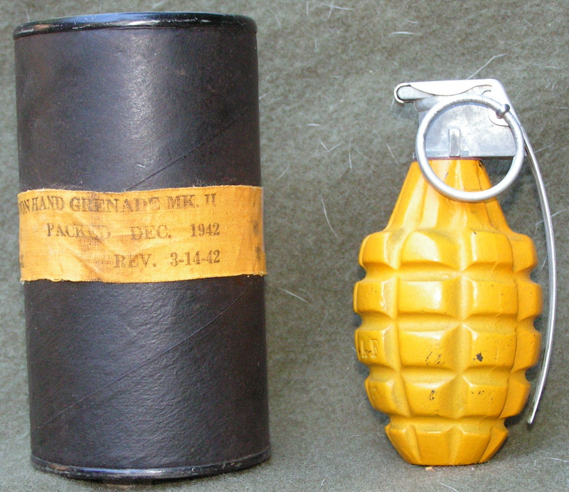 WW2 yellow MKII Grenade      - Wehrmacht-Awards com Militaria Forums