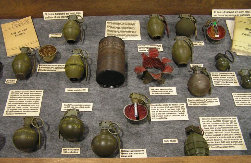 Gun Show Grenade Display - DISPLAYS - U S  Militaria Forum