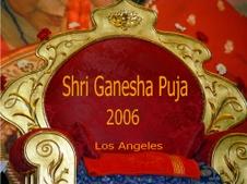 Shri Ganesha Puja 2006