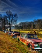 Old Cars in Hood, VA
