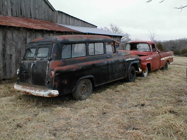 Projects - 1955-59 Chevrolet/GMC Suburban (Carryall) | The ...