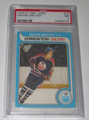 Wayne Gretzky PSA Graded Hockey Cards