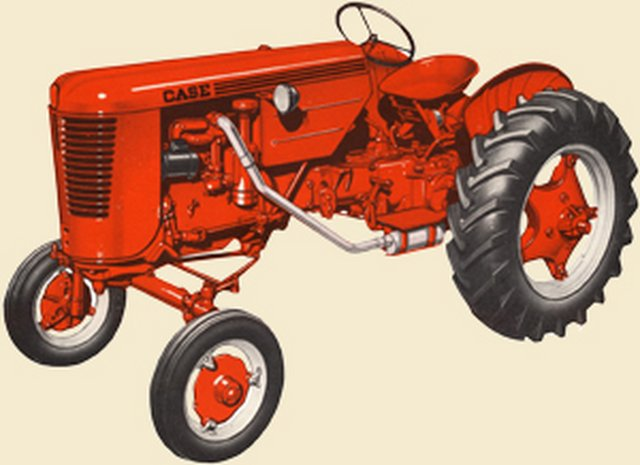 Case Vac 14 : What color rims on a vac yesterday s tractors