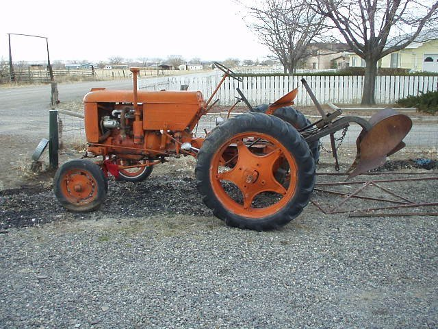 Case Vac Plowing : Plow for vac case and david brown forum yesterday s