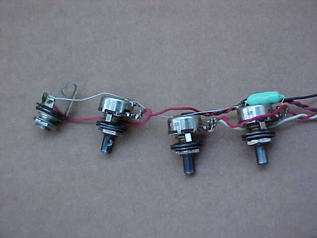 Vintage Wiring Harness Uk : Vintage s vox guitar wiring harness w original switch