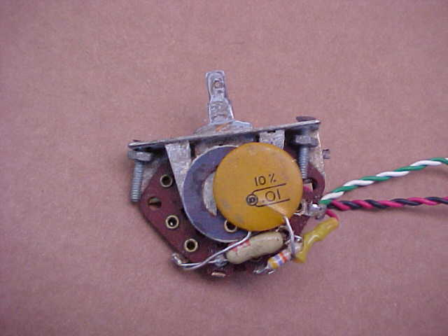 original vintage 1960s vox guitar pots caps 3 way switch wiring great for restoring 60s vox guitars please scroll down and look at all the pictures we will accept paypal on this auction no zero feedback bidders