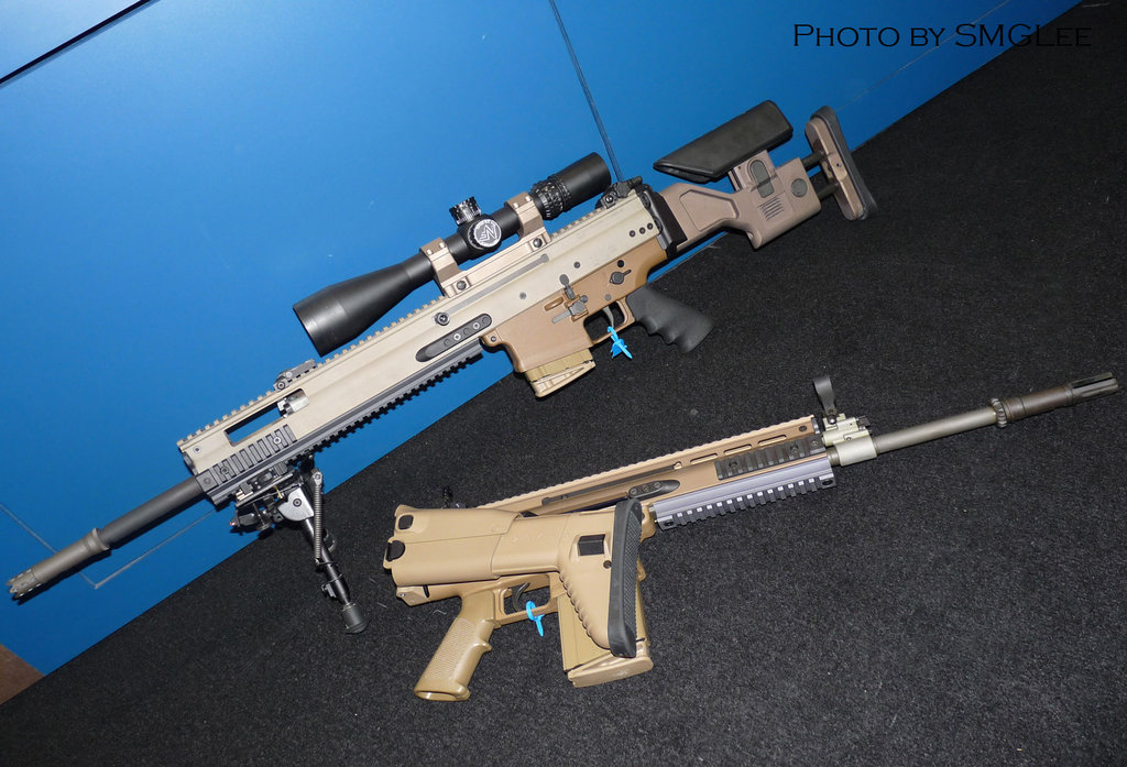 Scar stock - SSR (Sniper Support Rifle) - Airsoft Canada