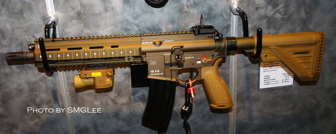 HK416 from MoH: Warfighter | Second Amendment Accessories | Pinterest