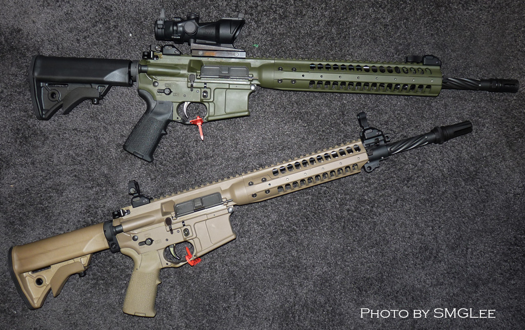 LWRC IC or SPR http://www.m4carbine.net/showthread.php?t=123431