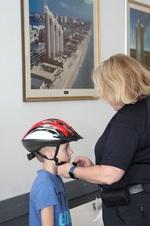 Bicycle Helmet Fitting 05.18.19