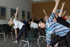 Chair Yoga August 30, 2018