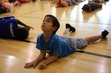 Freshman Camp International Day of Yoga