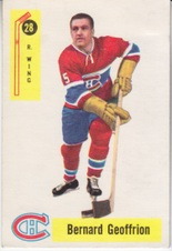 1958-59 Parkhurst NHL Hockey set