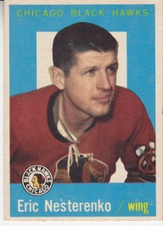 1959-60 Topps Hockey set