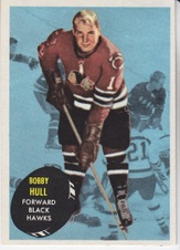 1961-62 Topps NHL Hockey set